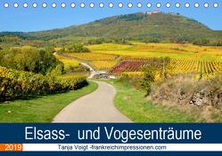 Elsass- und Vogesenträume (Tischkalender 2019 DIN A5 quer) von Voigt,  Tanja