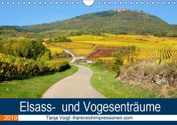 Elsass- und Vogesenträume (Wandkalender 2019 DIN A4 quer) von Voigt,  Tanja