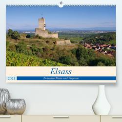 Elsass – Zwischen Rhein und Vogesen (Premium, hochwertiger DIN A2 Wandkalender 2021, Kunstdruck in Hochglanz) von LianeM