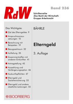 Elterngeld von Bährle,  Ralph Jürgen