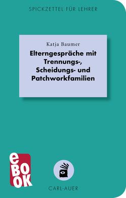 Elterngespräche mit Trennungs-, Scheidungs- und Patchworkfamilien von Baumer,  Katja