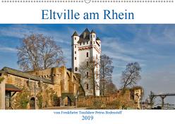 Eltville am Rhein vom Frankfurter Taxifahrer Petrus Bodenstaff (Wandkalender 2019 DIN A2 quer) von Bodenstaff,  Petrus, Vahlberg-Ruf,  Karin