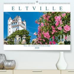 Eltville am Rhein – Wein, Sekt, Rosen (Premium, hochwertiger DIN A2 Wandkalender 2020, Kunstdruck in Hochglanz) von Meyer,  Dieter