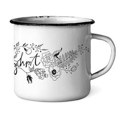 Emaille-Tasse Ungezähmt von Weigel,  Anne