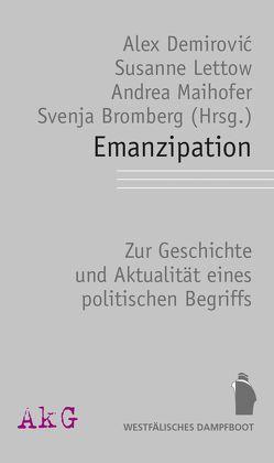 Emanzipation von Bromberg,  Svenja, Demirović,  Alex, Lettow,  Susanne, Maihofer,  Andrea