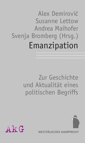 Emanzipation von Demirović,  Alex, Lettow,  Susanne, Maihofer,  Andrea
