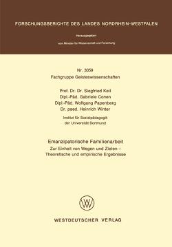 Emanzipatorische Familienarbeit von Keil,  Siegfried