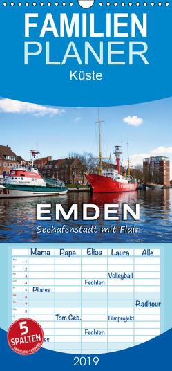 EMDEN Seehafenstadt mit Flair – Familienplaner hoch (Wandkalender 2019 , 21 cm x 45 cm, hoch) von Dreegmeyer,  Andrea