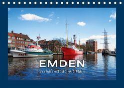 EMDEN Seehafenstadt mit Flair (Tischkalender 2019 DIN A5 quer)