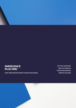 EMERGENCE • PLUS DREI von Kunsthalle Recklinghausen, Schwalm,  Hans-Jürgen, Weber,  Kerstin