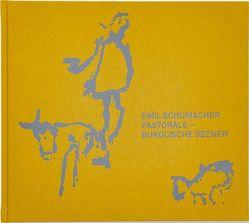 Emil Schumacher / Pastorale-Bukolische Szenen von Emil Schumacher