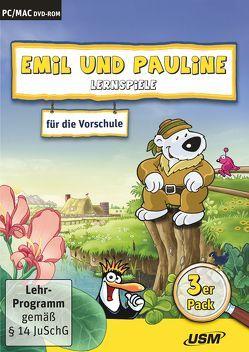 Emil und Pauline 3 in 1 Bundle – Lernspiele für die Vorschule von Bartl,  Almuth