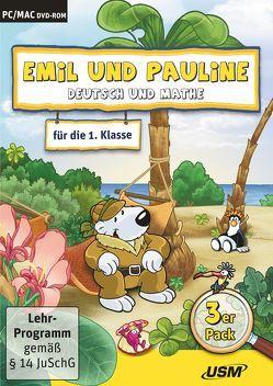 Emil und Pauline 2. 3er Box – Deutsch und Mathe für die 1. Klasse von Bartl,  Almuth