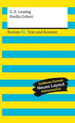 Emilia Galotti. Textausgabe mit Kommentar und Materialien von Krause,  Thorsten, Lessing,  Gotthold Ephraim