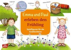 Emma und Paul erleben den Frühling. Spielfiguren für die Erzählschiene von Bohnstedt,  Antje, Lehner,  Monika