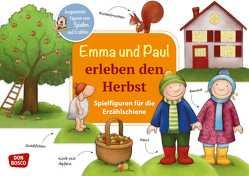Emma und Paul erleben den Herbst. Spielfiguren für die Erzählschiene. von Bohnstedt,  Antje, Lehner,  Monika