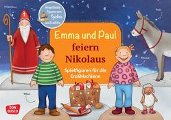 Emma und Paul feiern Nikolaus. Spielfiguren für die Erzählschiene. von Bohnstedt,  Antje, Lehner,  Monika