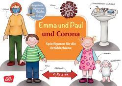 Emma und Paul und Corona. Spielfiguren für die Erzählschiene. von Bohnstedt,  Antje, Lehner,  Monika