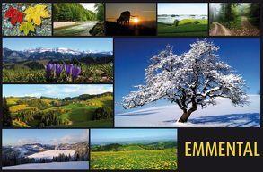 EMMENTAL-Postkartenset von Wyss,  Hanny