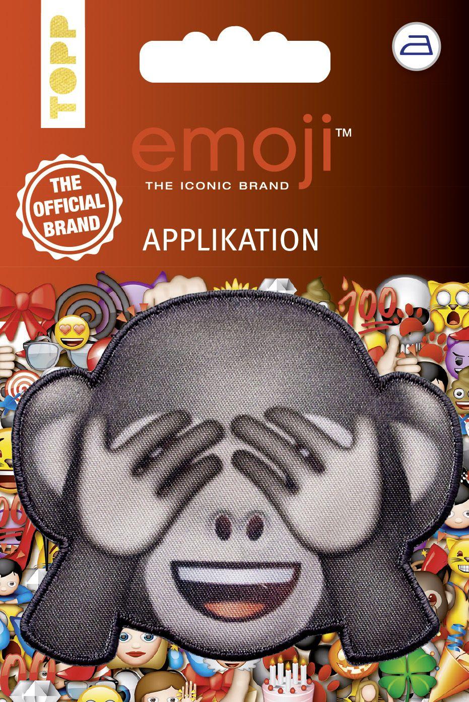 Emoji Applikation Affe Nicht Sehen Von Frechverlag Applikation Zum