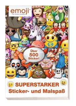 Emoji: Superstarker Sticker- und Malspaß von Hoffart,  Nicole, Wöhrmann,  Ruth