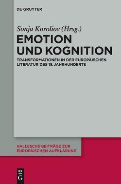Emotion und Kognition von Koroliov,  Sonja