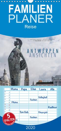 Emotionale Momente: Antwerpen Ansichten. – Familienplaner hoch (Wandkalender 2020 , 21 cm x 45 cm, hoch) von Gerlach,  Ingo