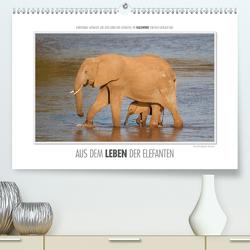 Emotionale Momente: Aus dem Leben der Elefanten. (Premium, hochwertiger DIN A2 Wandkalender 2021, Kunstdruck in Hochglanz) von Gerlach GDT,  Ingo