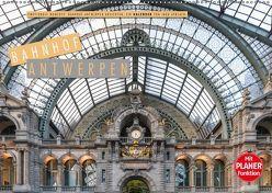 Emotionale Momente: Bahnhof Antwerpen Ansichten. (Wandkalender 2019 DIN A2 quer) von Gerlach,  Ingo