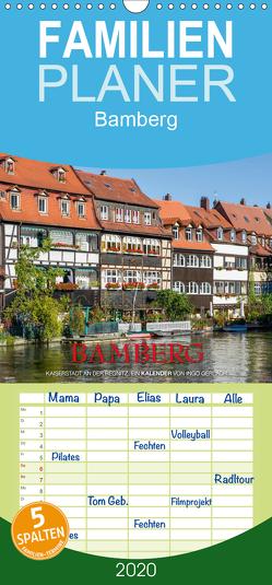 Emotionale Momente: Bamberg – Familienplaner hoch (Wandkalender 2020 , 21 cm x 45 cm, hoch) von Gerlach GDT,  Ingo