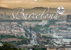 Emotionale Momente: Barcelona. (Wandkalender 2020 DIN A2 quer) von Gerlach,  Ingo
