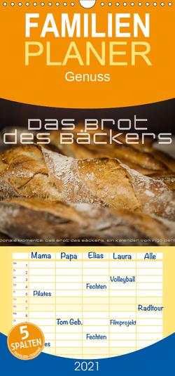 Emotionale Momente: Das Brot des Bäckers. – Familienplaner hoch (Wandkalender 2021 , 21 cm x 45 cm, hoch) von Gerlach,  Ingo