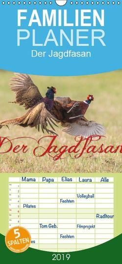 Emotionale Momente: Der Jagdfasan. – Familienplaner hoch (Wandkalender 2019 , 21 cm x 45 cm, hoch) von Gerlach,  Ingo