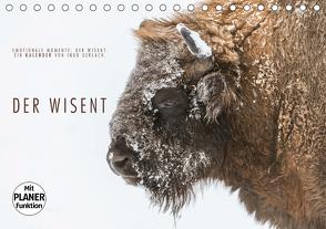 Emotionale Momente: Der Wisent. (Tischkalender 2021 DIN A5 quer) von Gerlach,  Ingo