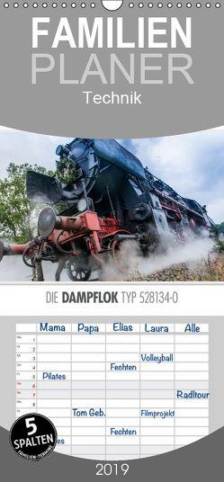 Emotionale Momente: Die Dampflok Typ 528134-0. – Familienplaner hoch (Wandkalender 2019 , 21 cm x 45 cm, hoch) von Gerlach,  Ingo