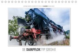Emotionale Momente: Die Dampflok Typ 528134-0. (Tischkalender 2021 DIN A5 quer) von Gerlach,  Ingo