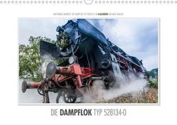 Emotionale Momente: Die Dampflok Typ 528134-0. (Wandkalender 2021 DIN A3 quer) von Gerlach,  Ingo