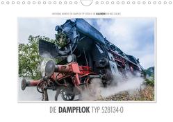 Emotionale Momente: Die Dampflok Typ 528134-0. (Wandkalender 2021 DIN A4 quer) von Gerlach,  Ingo