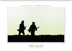 Emotionale Momente: Die Jagd. / CH-Version (Wandkalender 2019 DIN A2 quer) von Gerlach GDT,  Ingo