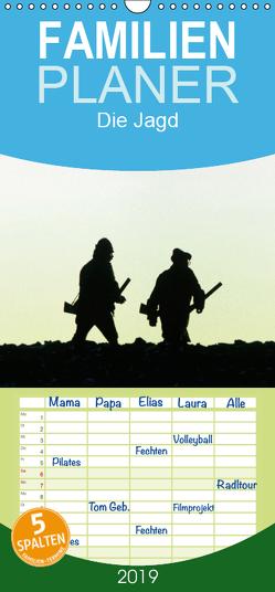 Emotionale Momente: Die Jagd. – Familienplaner hoch (Wandkalender 2019 , 21 cm x 45 cm, hoch) von Gerlach GDT,  Ingo
