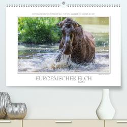 Emotionale Momente: Europäischer Elch Part II (Premium, hochwertiger DIN A2 Wandkalender 2021, Kunstdruck in Hochglanz) von Gerlach GDT,  Ingo