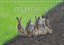 Emotionale Momente: Feldhasen / CH-Version (Tischkalender 2018 DIN A5 quer) von Gerlach GDT,  Ingo