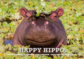 Emotionale Momente. Happy Hippo / CH-Version (Wandkalender 2018 DIN A2 quer) von Gerlach GDT,  Ingo