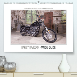Emotionale Momente: Harley Davidson – Wide Glide / CH-Version (Premium, hochwertiger DIN A2 Wandkalender 2021, Kunstdruck in Hochglanz) von Gerlach,  Ingo
