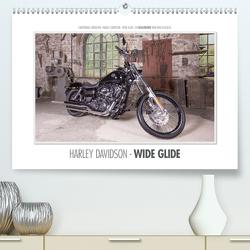 Emotionale Momente: Harley Davidson – Wide Glide / CH-Version (Premium, hochwertiger DIN A2 Wandkalender 2020, Kunstdruck in Hochglanz) von Gerlach,  Ingo