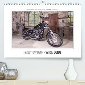 Emotionale Momente: Harley Davidson – Wide Glide (Premium, hochwertiger DIN A2 Wandkalender 2021, Kunstdruck in Hochglanz) von Gerlach,  Ingo