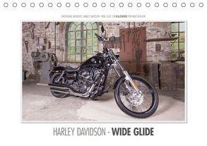 Emotionale Momente: Harley Davidson – Wide Glide (Tischkalender 2018 DIN A5 quer) von Gerlach,  Ingo