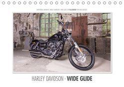 Emotionale Momente: Harley Davidson – Wide Glide (Tischkalender 2019 DIN A5 quer) von Gerlach,  Ingo