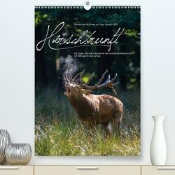 Emotionale Momente: Hirschbrunft (Premium, hochwertiger DIN A2 Wandkalender 2021, Kunstdruck in Hochglanz) von Gerlach GDT,  Ingo