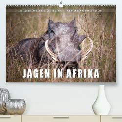 Emotionale Momente: Jagen in Afrika. (Premium, hochwertiger DIN A2 Wandkalender 2021, Kunstdruck in Hochglanz) von Gerlach,  Ingo